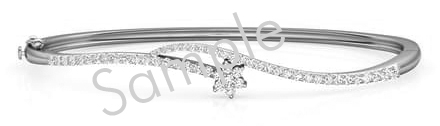 14K White 1/2 CTW Diamond Fashion Tennis 7