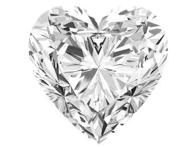0.27 Carat Heart Diamond