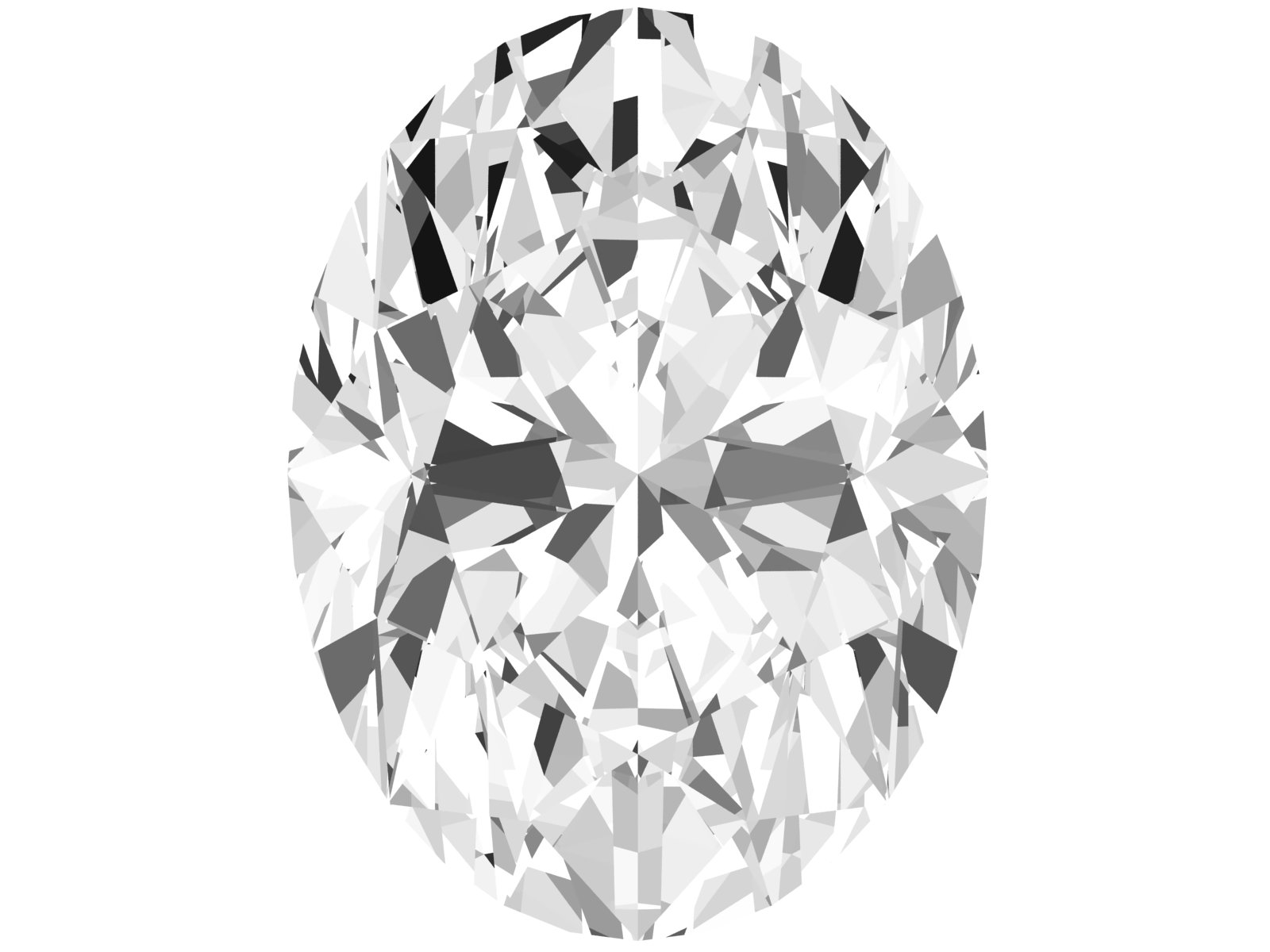 0.46 Carat Oval Diamond