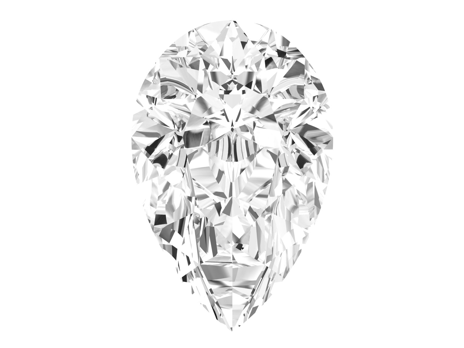 0.51 Carat Pear Diamond