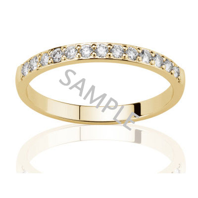 Women's Yellow Gold WEDDING BAND