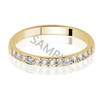 Women's Yellow Gold WEDDING BAND 1