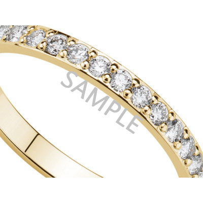 Women's Yellow Gold WEDDING BAND 2