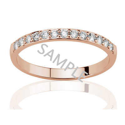 Women's Rose Gold WEDDING BAND 0