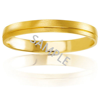 Men's Yellow Gold WEDDING BAND 0