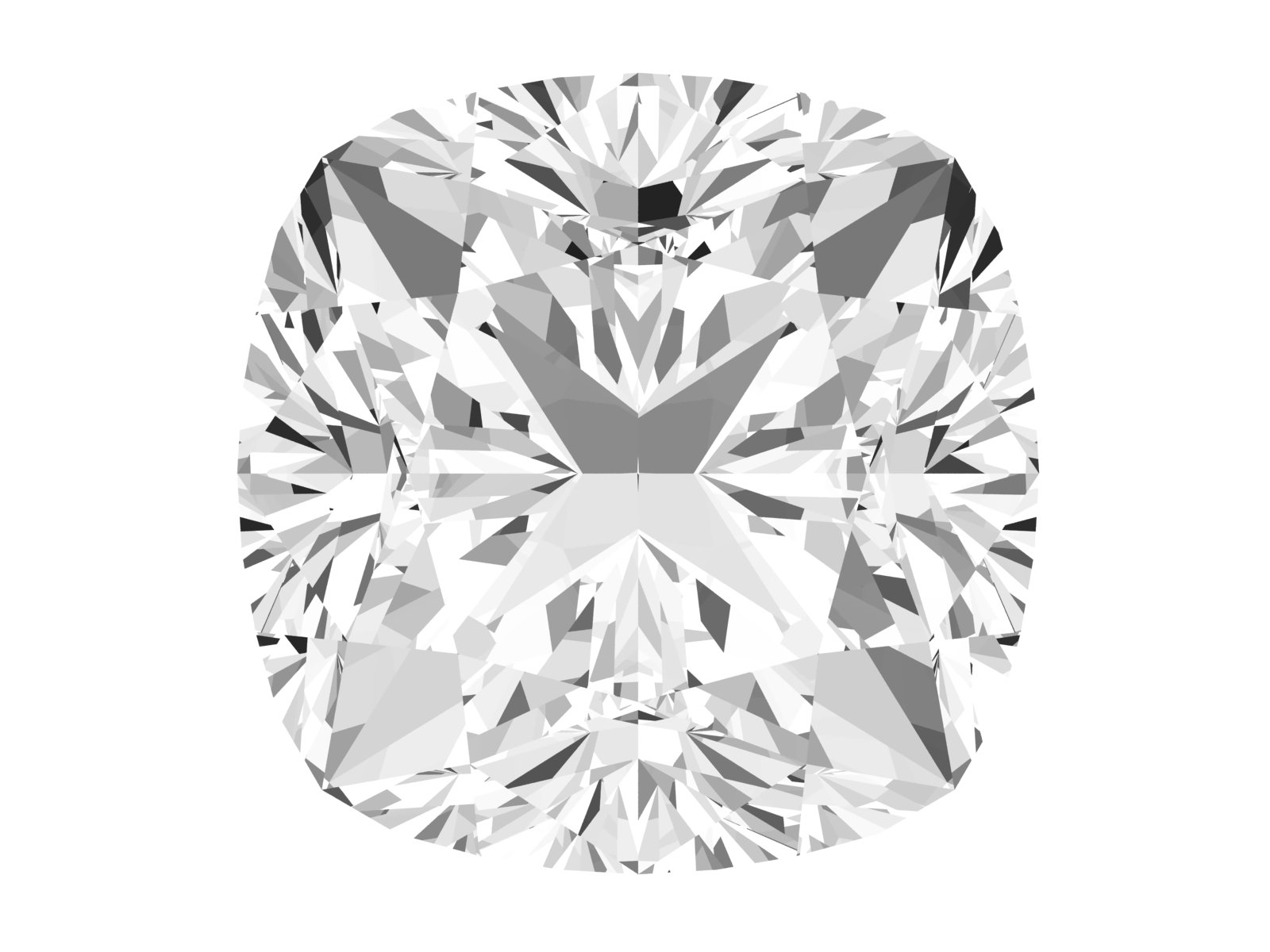 0.63 Carat Cushion Diamond