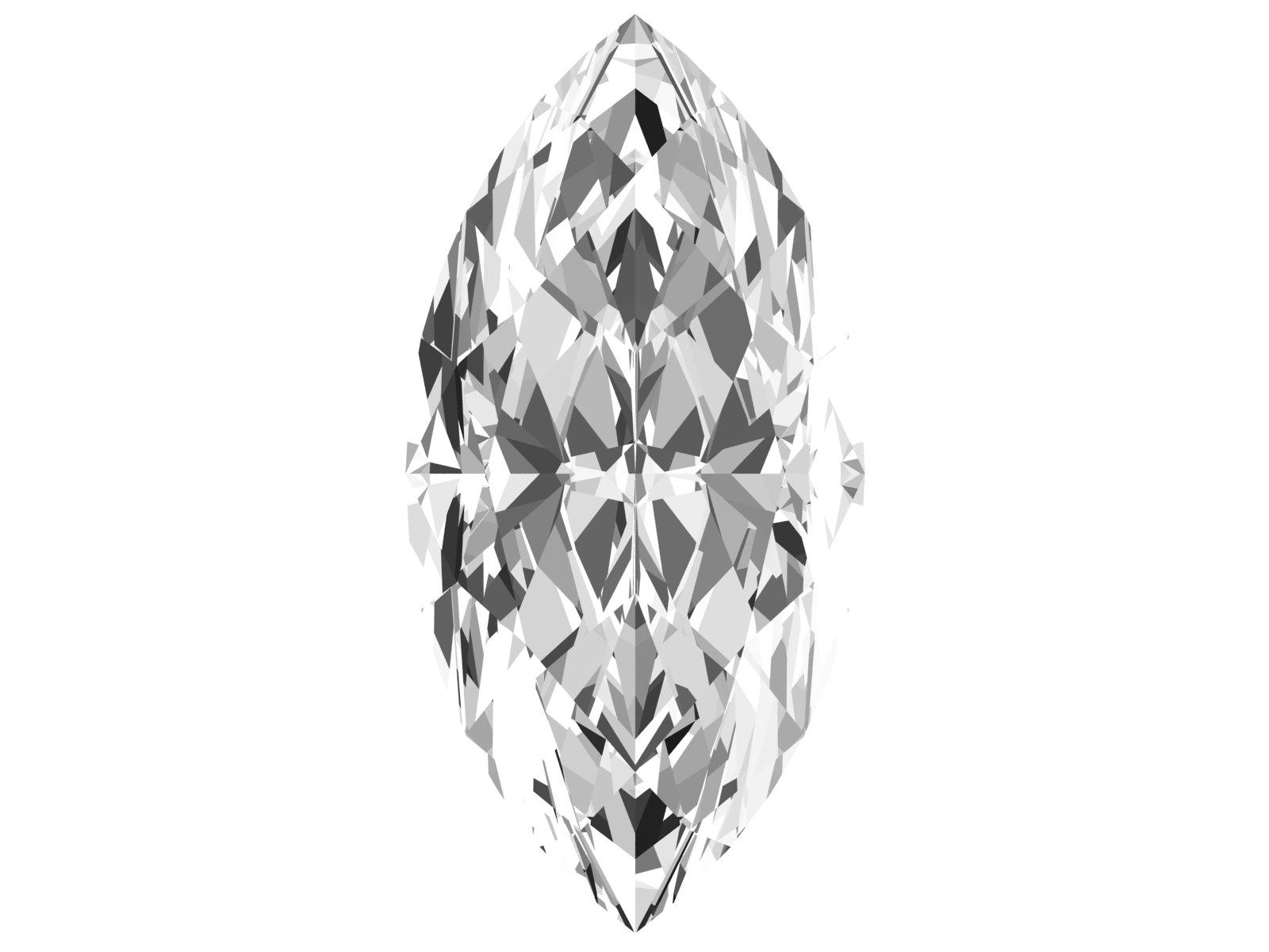 0.24 Carat Marquise Diamond