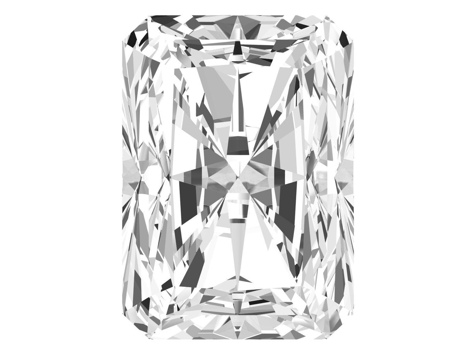 0.54 Carat Radiant Diamond