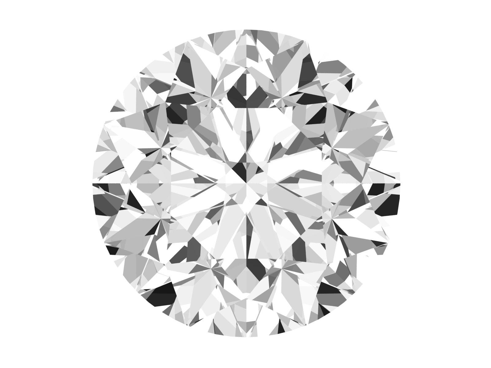 0.54 Carat Round Diamond
