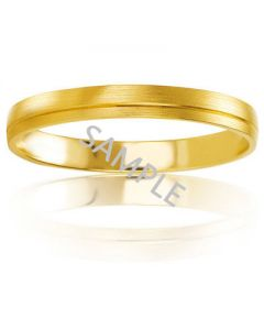 Men's Yellow Gold WEDDING BAND