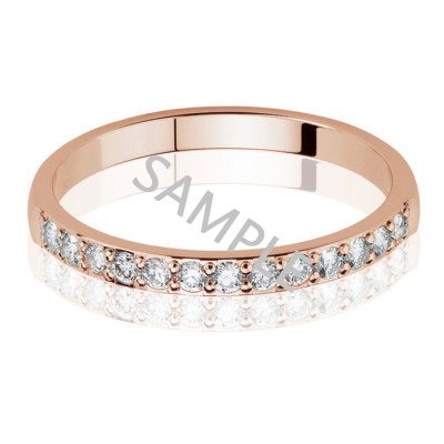 Women's Rose Gold WEDDING BAND 1