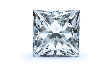 Trellis Princess Solitaire Diamond Engagement Ring - Princess - 14K Rose Gold with 0.20 Carat Princess Diamond  3