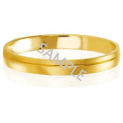 Men's Yellow Gold WEDDING BAND 1