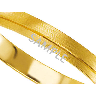 Men's Yellow Gold WEDDING BAND 2