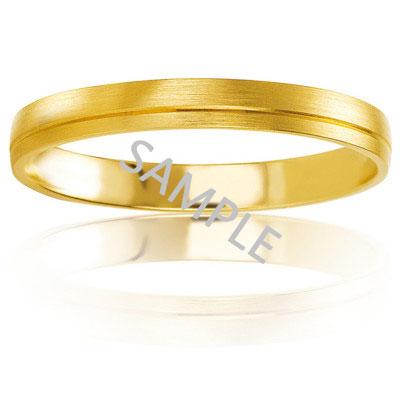 Men's Yellow Gold WEDDING BAND 0