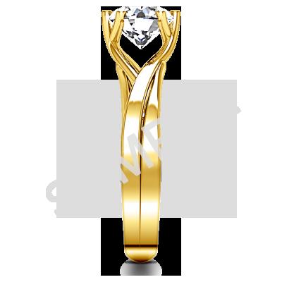 Women's Eternity Rings 14K YELLOW GOLD 2